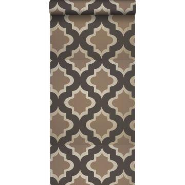 papel pintado kasbah marrón claro