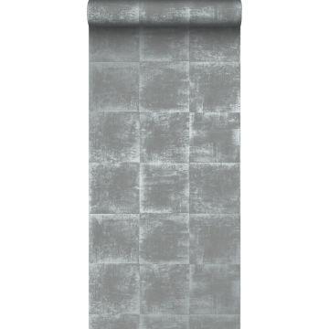 papel pintado estructura gris