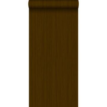 papel pintado rayas finas marrón y oro brillante claro