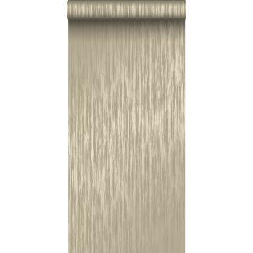 papel pintado rayas finas marrón claro