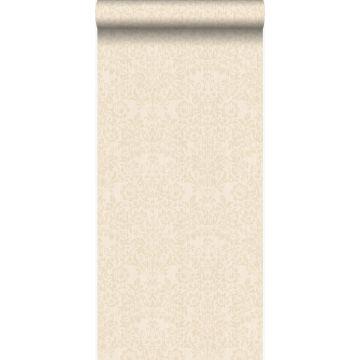 papel pintado adorno blanco marfil