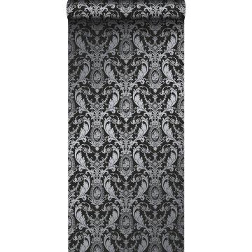 papel pintado adorno negro
