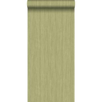 papel pintado raya fina verde