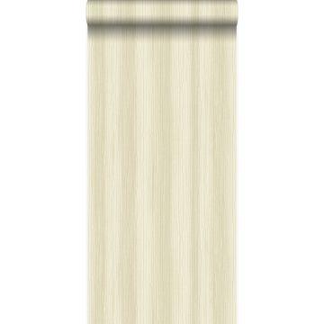 papel pintado rayado beige