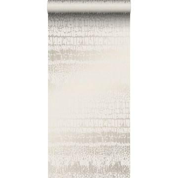 papel pintado piel de animal blanquecino