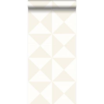 papel pintado forma gráfica blanco