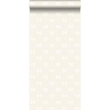 papel pintado pequeños arcos plata