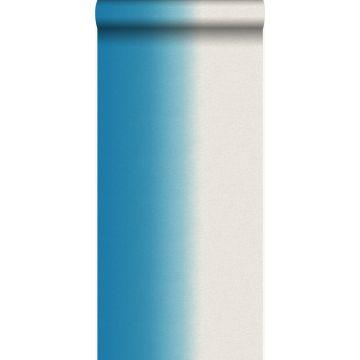 papel pintado dip dye tinte de inmersión turquesa