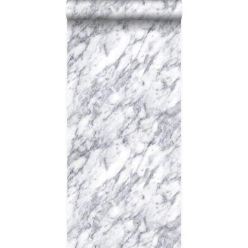 papel pintado marmol blanco marfil oscuro