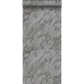 papel pintado marmol gris