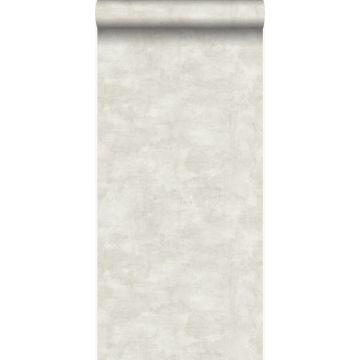 papel pintado aspecto de hormigón beige claro