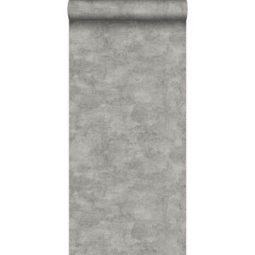 papel pintado aspecto de hormigón gris oscuro
