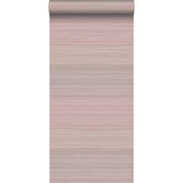 papel pintado estructura tejida con colores degradados rosa viejo