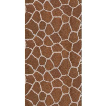 fotomural imitacion piel de jirafa marrón