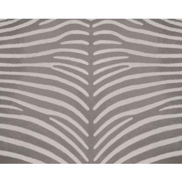 fotomural imitación piel de cebra gris