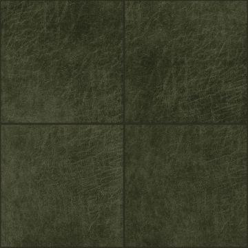 paneles eco-cuero autoadhesivos cuadrado verde oliva agrisado