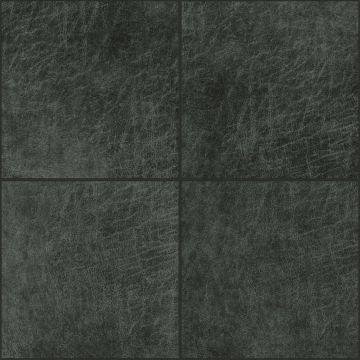 paneles eco-cuero autoadhesivos cuadrado gris carbón