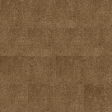 paneles eco-cuero autoadhesivos rectángulo marrón coñac
