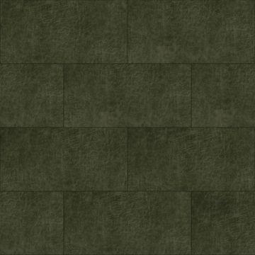 paneles eco-cuero autoadhesivos rectángulo verde oliva agrisado