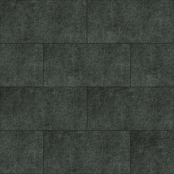 paneles eco-cuero autoadhesivos rectángulo gris carbón