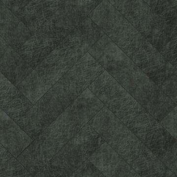 paneles eco-cuero autoadhesivos chevron gris carbón